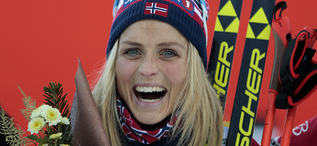 20.12.2015, Toblach, Italy (ITA):Therese Johaug (NOR) - FIS world cup cross-country, 10km women, Toblach (ITA). www.nordicfocus.com. © Modica/NordicFocus. Every downloaded picture is fee-liable.