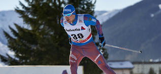 12.12.2015, Davos, Switzerland (SUI):Alexander Legkov (RUS),   - FIS world cup cross-country, 30km men, Davos (SUI). www.nordicfocus.com. © Felgenhauer/NordicFocus. Every downloaded picture is fee-liable.