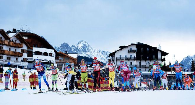 VISMA SKI CLASSICS inför ett pris för dom åkare som är bäst i Alp-tävlingarna totalt, en av dom är König Maximilian Lauf i Seefeld på bilden. Foto: MAGNUS ÖSTH