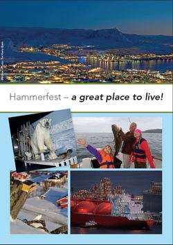 Hammerfest a great place to live hammerfest kommune for Nice places to live
