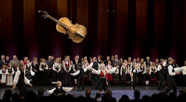 Avslutning Mesterkonsert 2014. Foto Ingvil Skeie Ljones