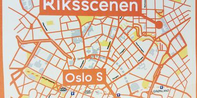 Illustrasjonsbilde kart