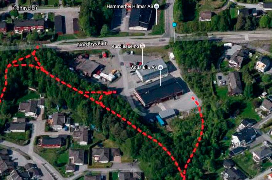 Forslag til detaljreguleringsplan for Nordbyveien 70, 72 og 74