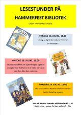 Lesestunder Hammerfestdagene 2016 PLAKAT