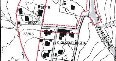 R-308 Varsel oppstart Kjølstadhøgda kartskisse
