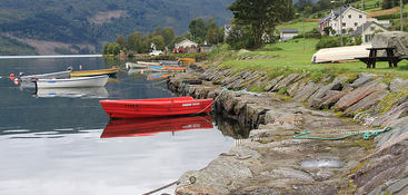 Hafslovatnet båtar
