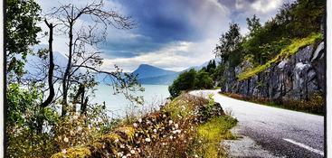 Utsikt mot Molden
