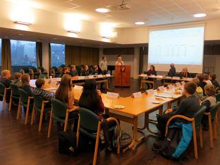 Barn- og unges kommunestyremøte 21.11.2016
