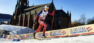 03.02.2016, Drammen, Norway (NOR):Johannes Hoesflot Klaebo (NOR) - FIS world cup cross-country, individual sprint, Drammen (NOR). www.nordicfocus.com. © Felgenhauer/NordicFocus. Every downloaded picture is fee-liable.