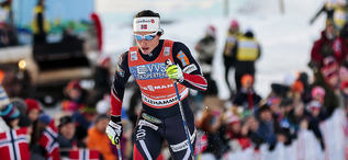 04.12.2016, Lillehammer, Norway (NOR):Marit Bjoergen (NOR) - FIS world cup cross-country, pursuit women, Lillehammer (NOR). www.nordicfocus.com. © Modica/NordicFocus. Every downloaded picture is fee-liable.