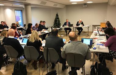 Kommunestyret i julemøte 2016