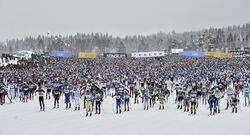 ENERVIT går in som en av huvudsponsorerna i Vasaloppet. Foto: VASALOPPET/NISSE SCHMIDT