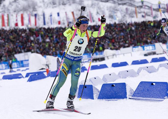 ANNA MAGNUSSON slog till med en 11:e plats i masstarten i världscuptävlingen i tyska Oberhof. Hennes bästa! Foto: NORDIC FOCUS