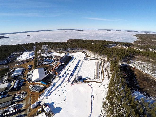 KONTIOLAHTI i finska Karelen får ta över världscupen i skidskytte efter Tyumen i Ryssland som har sagt ifrån sig tävlingarna. Foto: NORDIC FOCUS