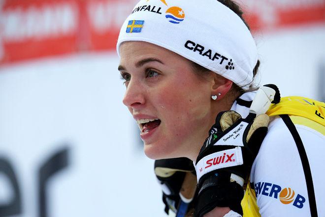 ANNA DYVIK har imponerat i Skandinaviska cupen och har nu en klar ledning. Foto/rights: KJELL-ERIK KRISTIANSEN/sweski.com
