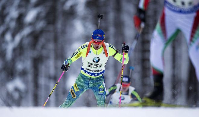 JESPER NELIN gjorde en fin andra sträcka för Sverige i Ruhpolding. Foto: NORDIC FOCUS