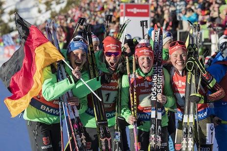 Antholz une belle deuxi me place pour terminer ski - Groupe dauphinoise ...