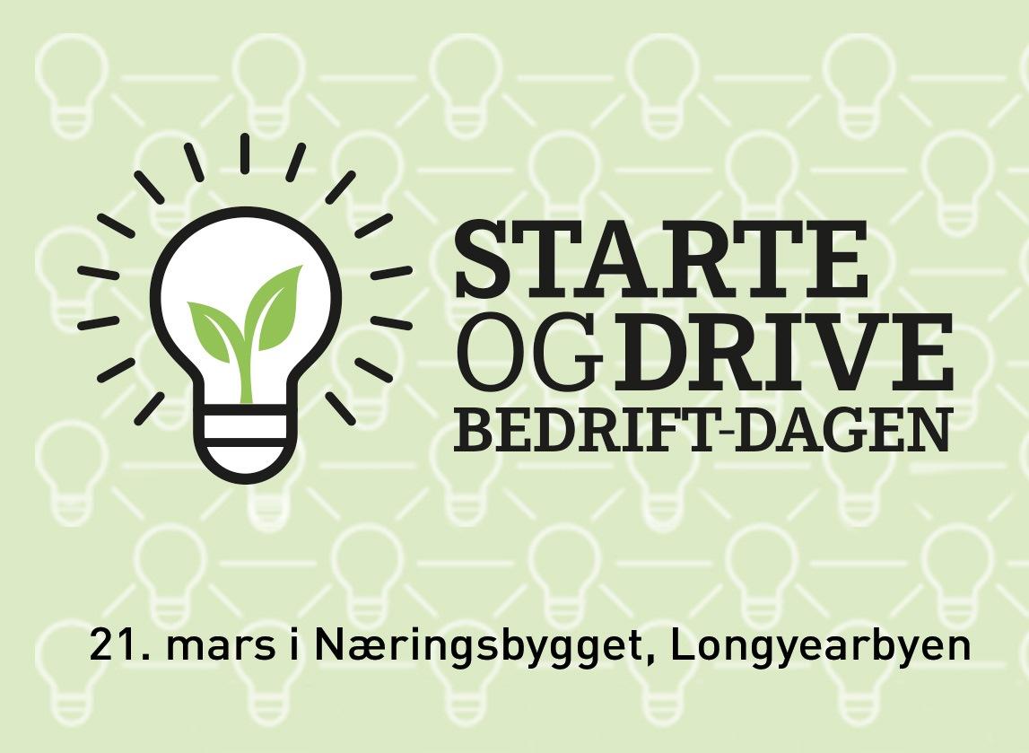 Logo starte egen bedrift