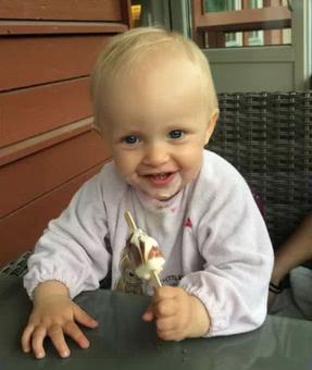 Mathilde Isaksen 2 år