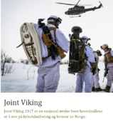 Joint viking øvelse