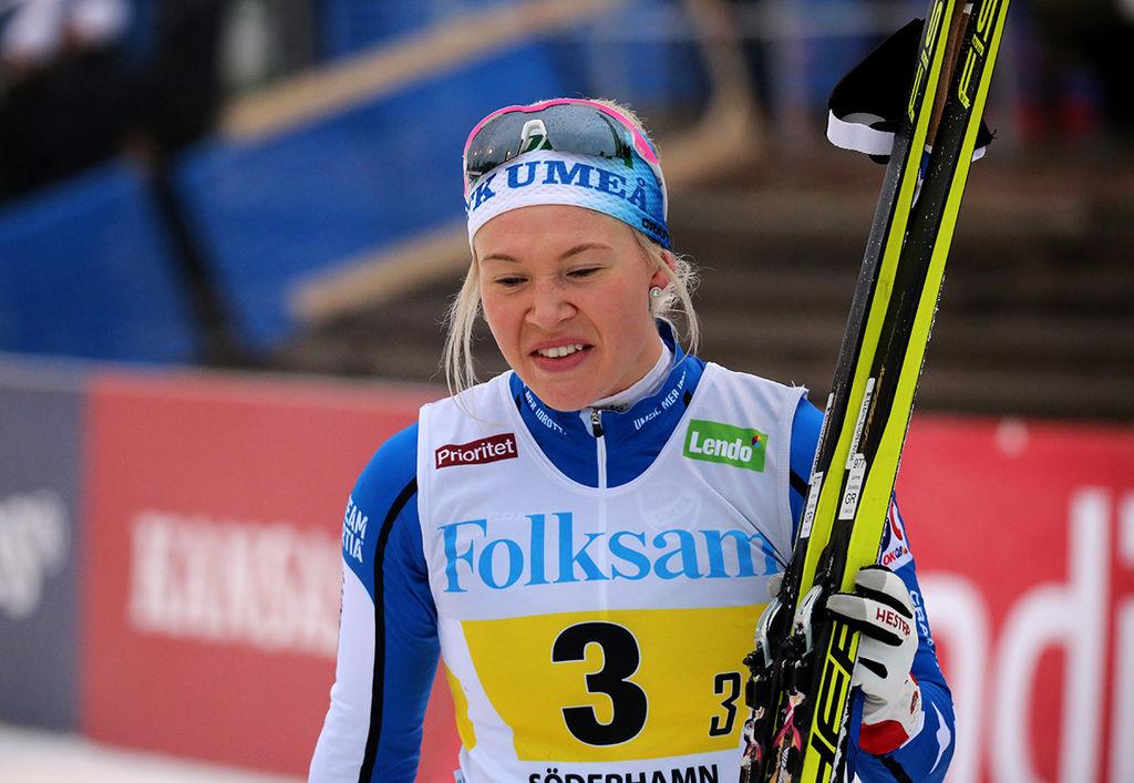 Falk fick inte trana skidor i dag heller