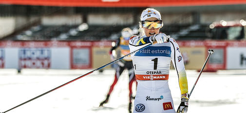 18.02.2017, Otepaeae, Estonia (EST):Stina Nilsson (SWE) - FIS world cup cross-country, individual sprint, Otepaeae (EST). www.nordicfocus.com. © Modica/NordicFocus. Every downloaded picture is fee-liable.