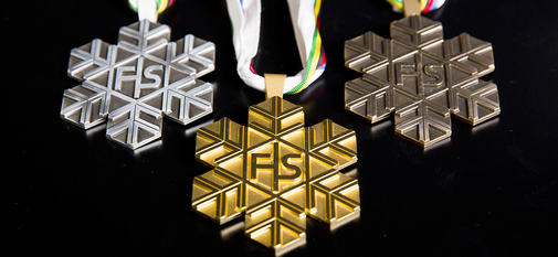 23.02.2017, Lahti, Finland (FIN):  - FIS nordic world ski championships, cross-country, medals, Lahti (FIN). www.nordicfocus.com. © Modica/NordicFocus. Every downloaded picture is fee-liable.