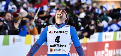 25.02.2017, Lahti, Finland (FIN):Sergey Ustiugov (RUS) - FIS nordic world ski championships, cross-country, skiathlon men, Lahti (FIN). www.nordicfocus.com. © Thibaut/NordicFocus. Every downloaded picture is fee-liable.