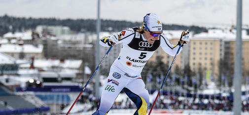 23.02.2017, Lahti, Finland (FIN):Hanna Falk (SWE) - FIS nordic world ski championships, cross-country, individual sprint, Lahti (FIN). www.nordicfocus.com. © Modica/NordicFocus. Every downloaded picture is fee-liable.
