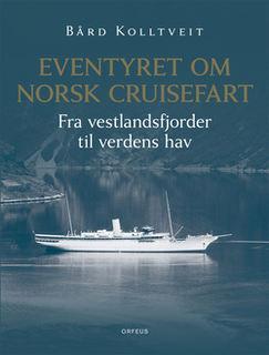 """Forsidebildet på boka """"Norsk cruisefart"""""""
