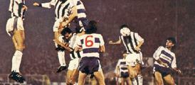Partizan - QPR, Zivkovic scores for 4-0   1984