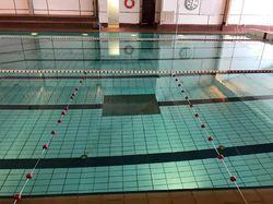 Svømmehallen delvis avstengt