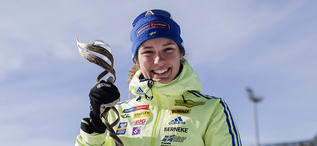 19.03.2017, Oslo, Norway (NOR):Hanna Oeberg (SWE), rookie of the year -  IBU world cup biathlon, cups, Oslo (NOR). www.nordicfocus.com. © Manzoni/NordicFocus. Every downloaded picture is fee-liable.
