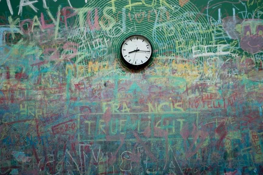 klokke i klassrom