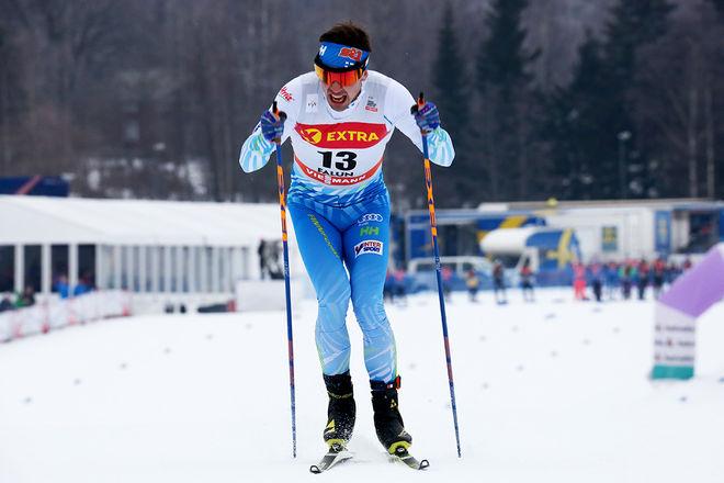 RISTOMATTI HAKOLA vann finska mästerskapen på 30 km klassisk åkning med masstart. Här från världscupen i Falun i vinter. Foto/rights: MARCELA HAVLOVA/sweski.com
