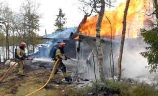 Brannillustrasjon ikke til fri bruk