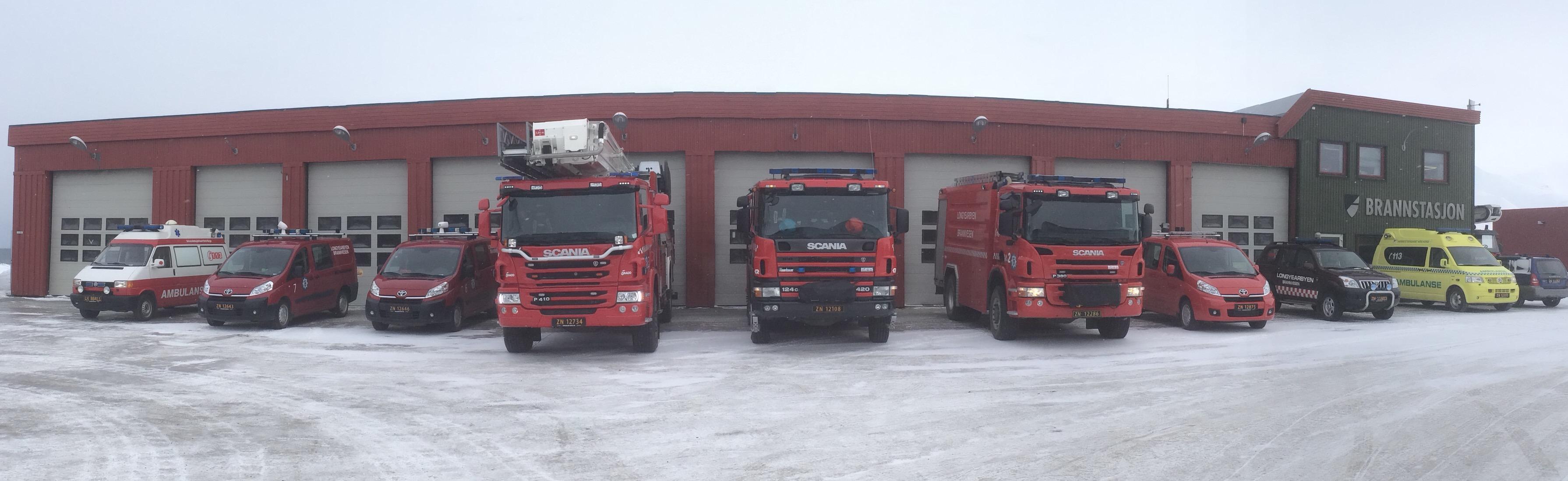 Brann og redning kjøretøy