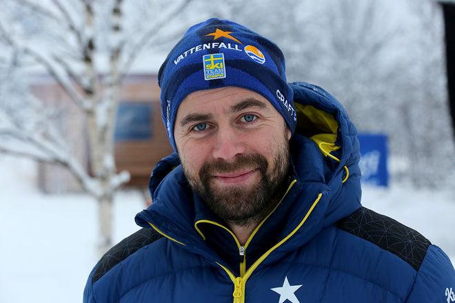 FÖRBUNDSKAPTENEN Rikard Grip har planen klar för träningslägren för landslagets träningsgrupp 1. Foto/rights: KJELL-ERIK KRISTIANSEN/sweski.com