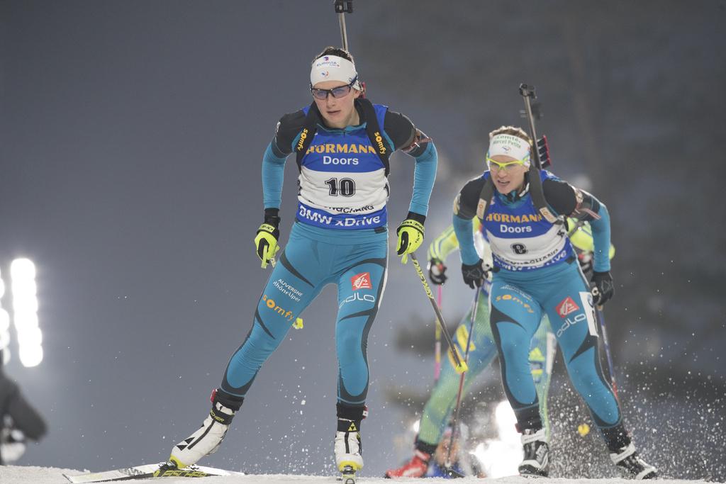 biathlon l 39 quipe de france f minine pour 2018 ski. Black Bedroom Furniture Sets. Home Design Ideas