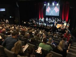 17. mai 2017 Festforestilling i Longyearbyen kulturhus Foto: Roger Zahl Ødegård