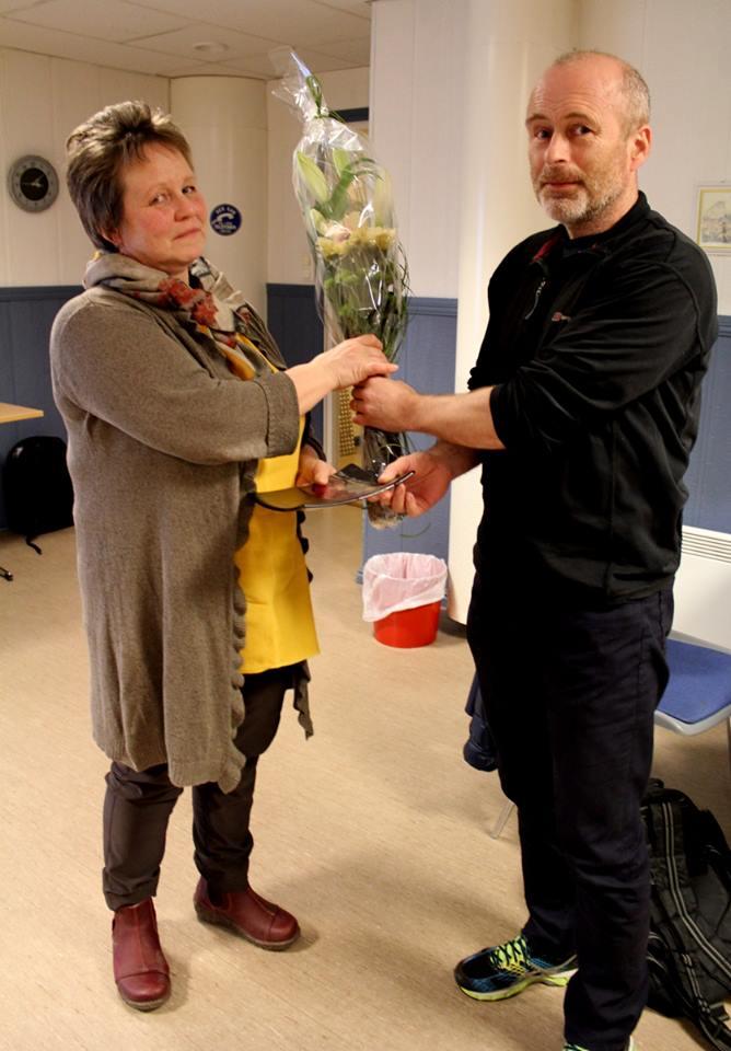 Opplæringspris til Herøy ASVO_Ragnhild og Tor Hugo