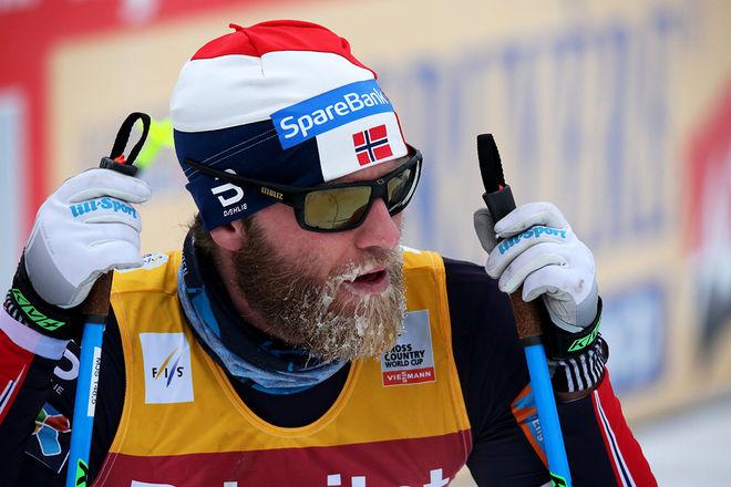 MARTIN JOHNSRUD SUNDBY är känd för att träna mest av alla världens längdstjärnor. Men nu funderar 32-åringen på att dra ner på träningen inför OS-säsongen 2018. Foto/rights: MARCELA HAVLOVA/sweski.com