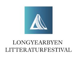 Longyearbyen litteraturfestival Logo designet av Magne Furuholmen 2017