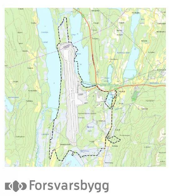 forsvarsbygg kart