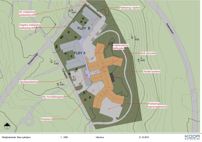 Plan utenomhus Koda ark