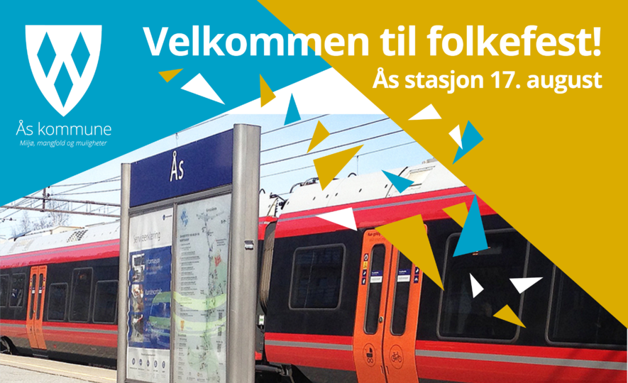 NRKs sommertog kommer til Ås stasjon 17. august. Velkommen!