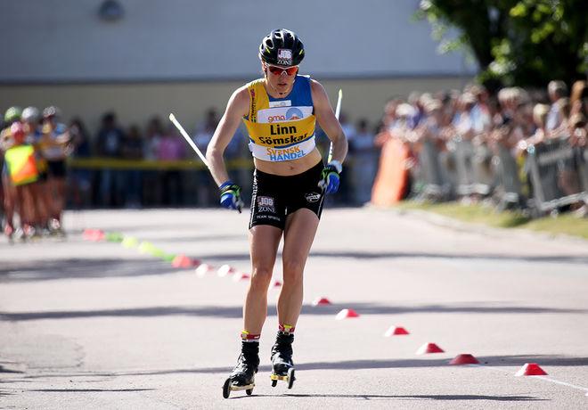 LINN SÖMSKAR vann också den första etappen av Toppidrettsveka i Norge. Foto/rights: MARCELA HAVLOVA/sweski.com