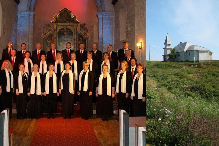 Konsert med kammerkoret i Gåsvær kapell