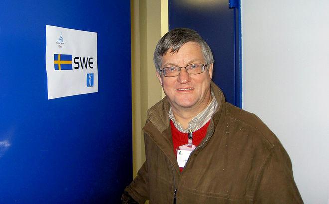 LÄNGDLANDSLAGETS mångaåriga presschef Jan Nordin har gått bort efter en tids sjukdom. Foto: THORD ERIC NILSSON