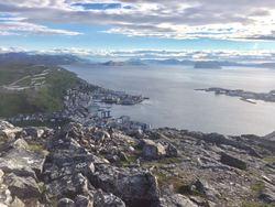 Tre topp tur Ordførertur Utsikt Håja fra Mollafjellet sommer